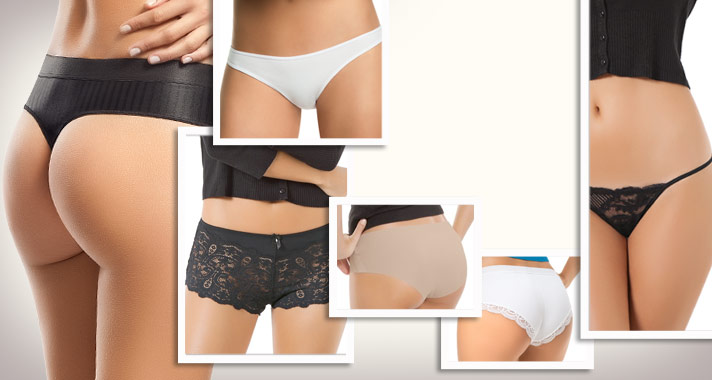 Granny panties to sexier designer panties