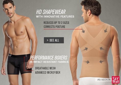 HD SHAPEWEAR FOR MEN & PERFOMANCE BOXERS