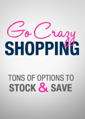 Go crazy shopping lingerie on sale