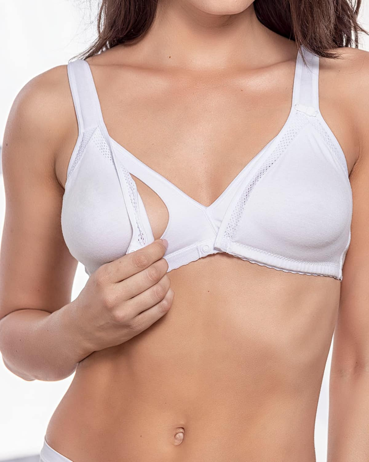Nursing Bra with Feed Tracker