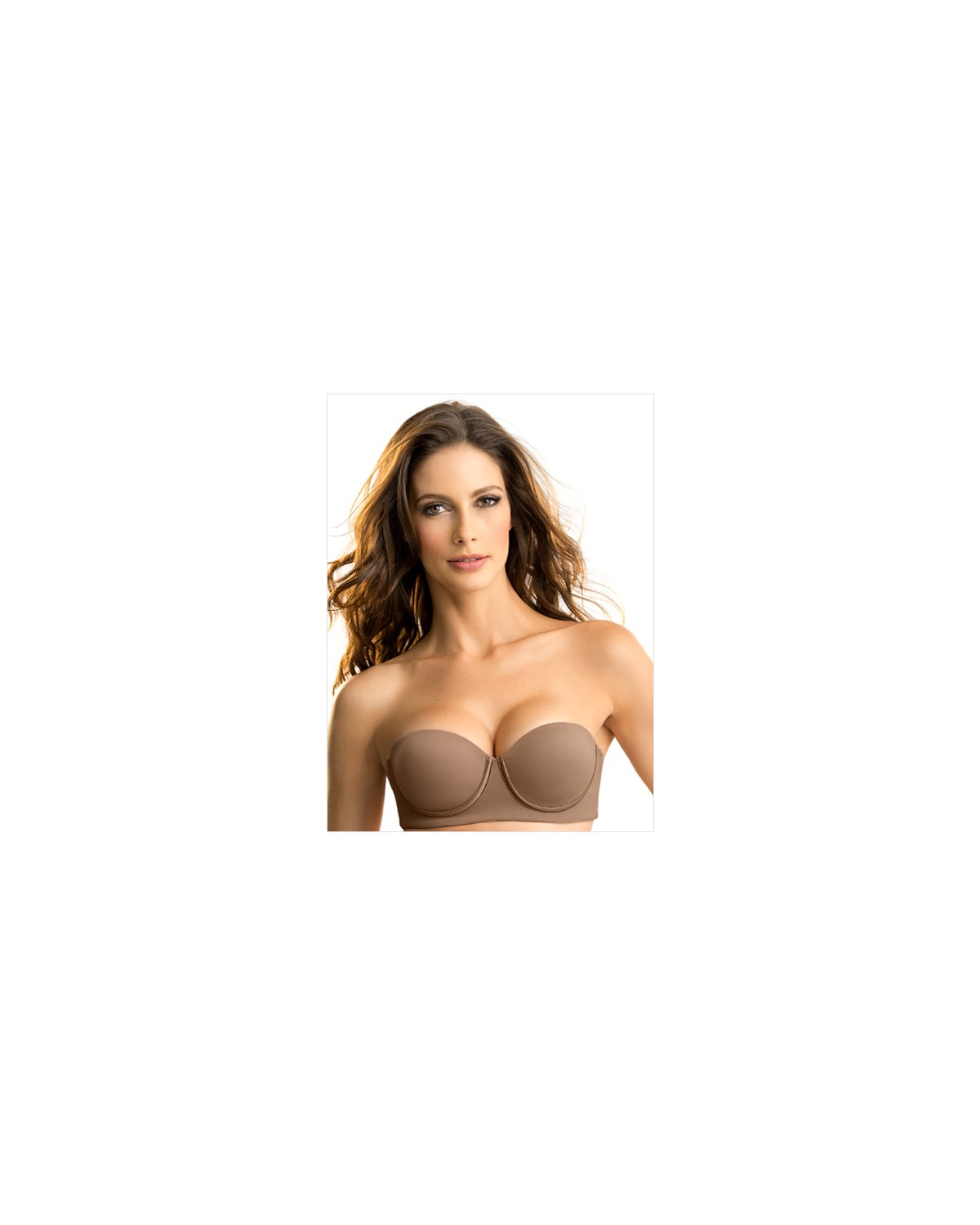slimming strapless push up bra--MainImage