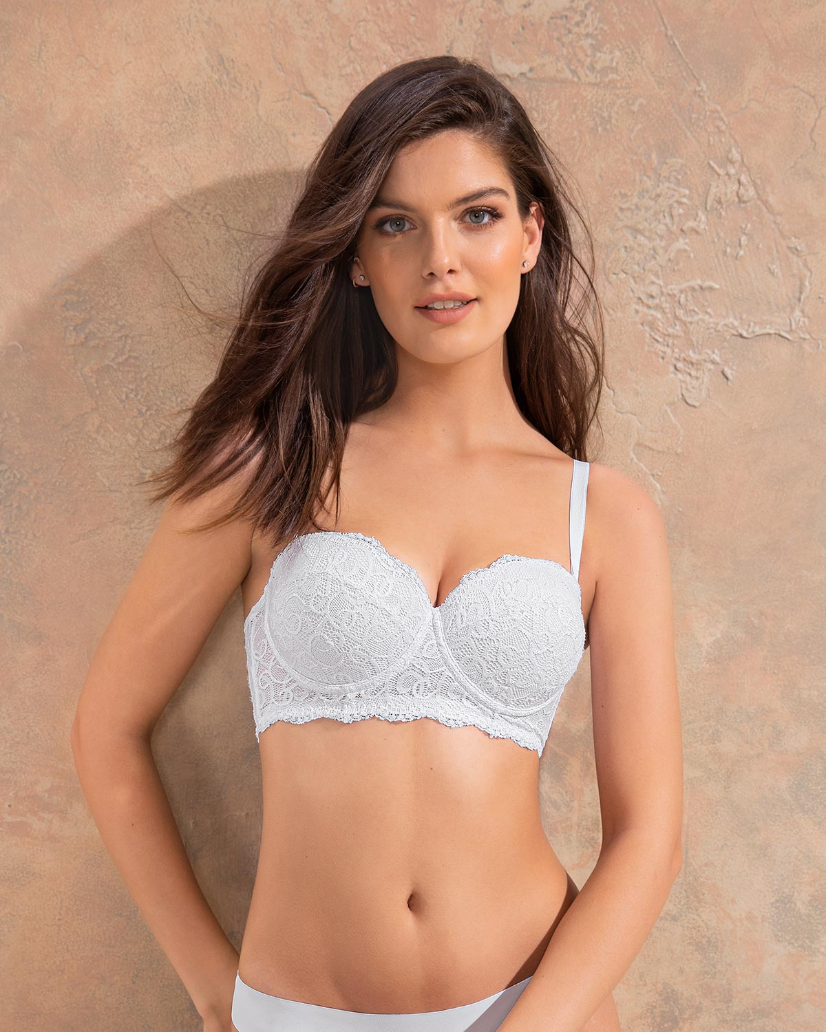 A decent bra with padding to push you up about a cup size, but better on smaller boobs (the straps are a little stretchy for optimum support). Also, it doesn't feel very sexy – the actual cups.