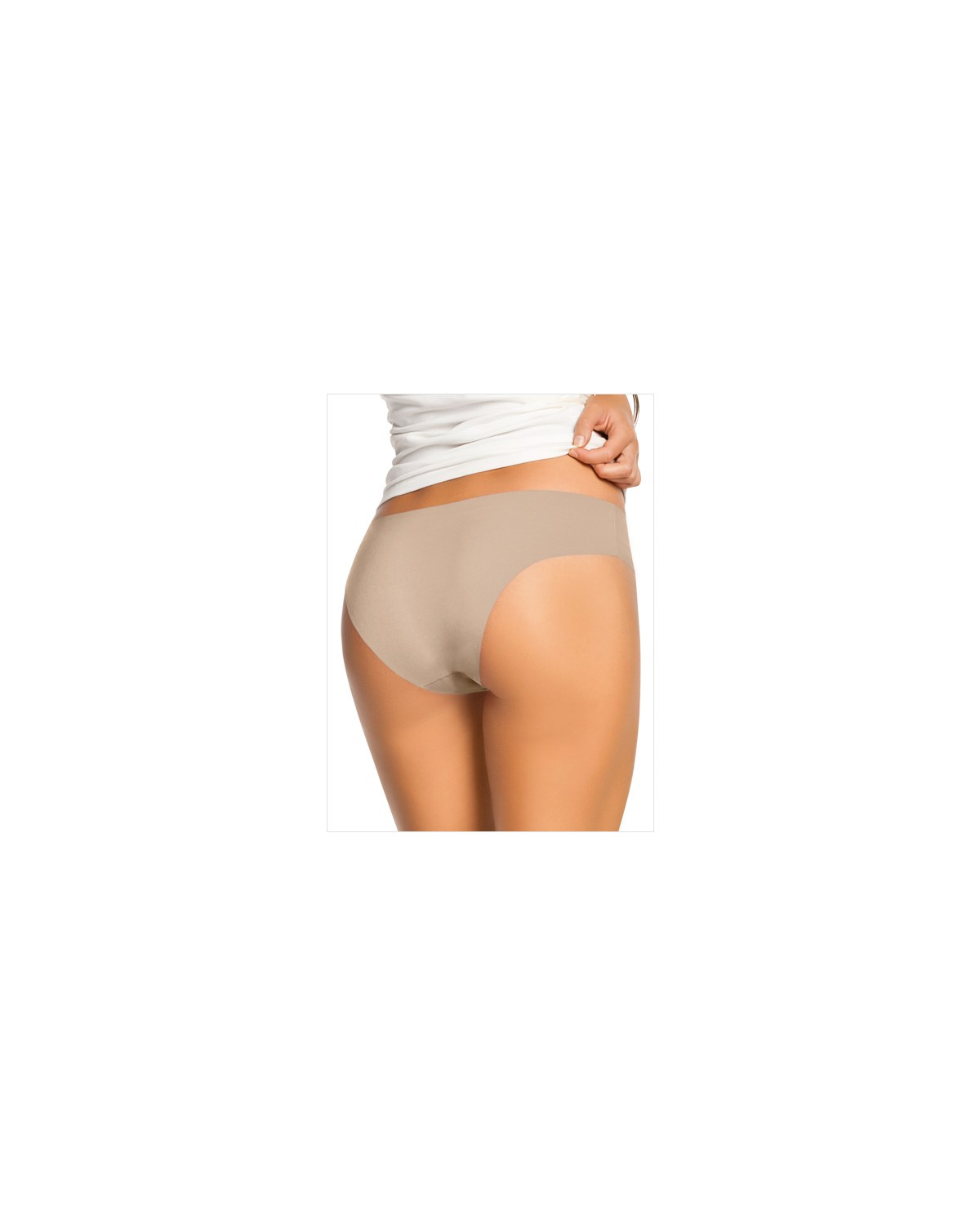 no-ride-up seamless bikini panty-802- Nude-MainImage