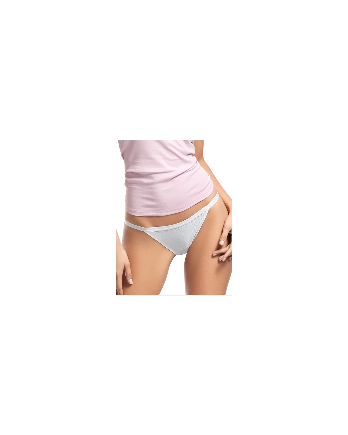 adjustable low rise thong-000- White-MainImage