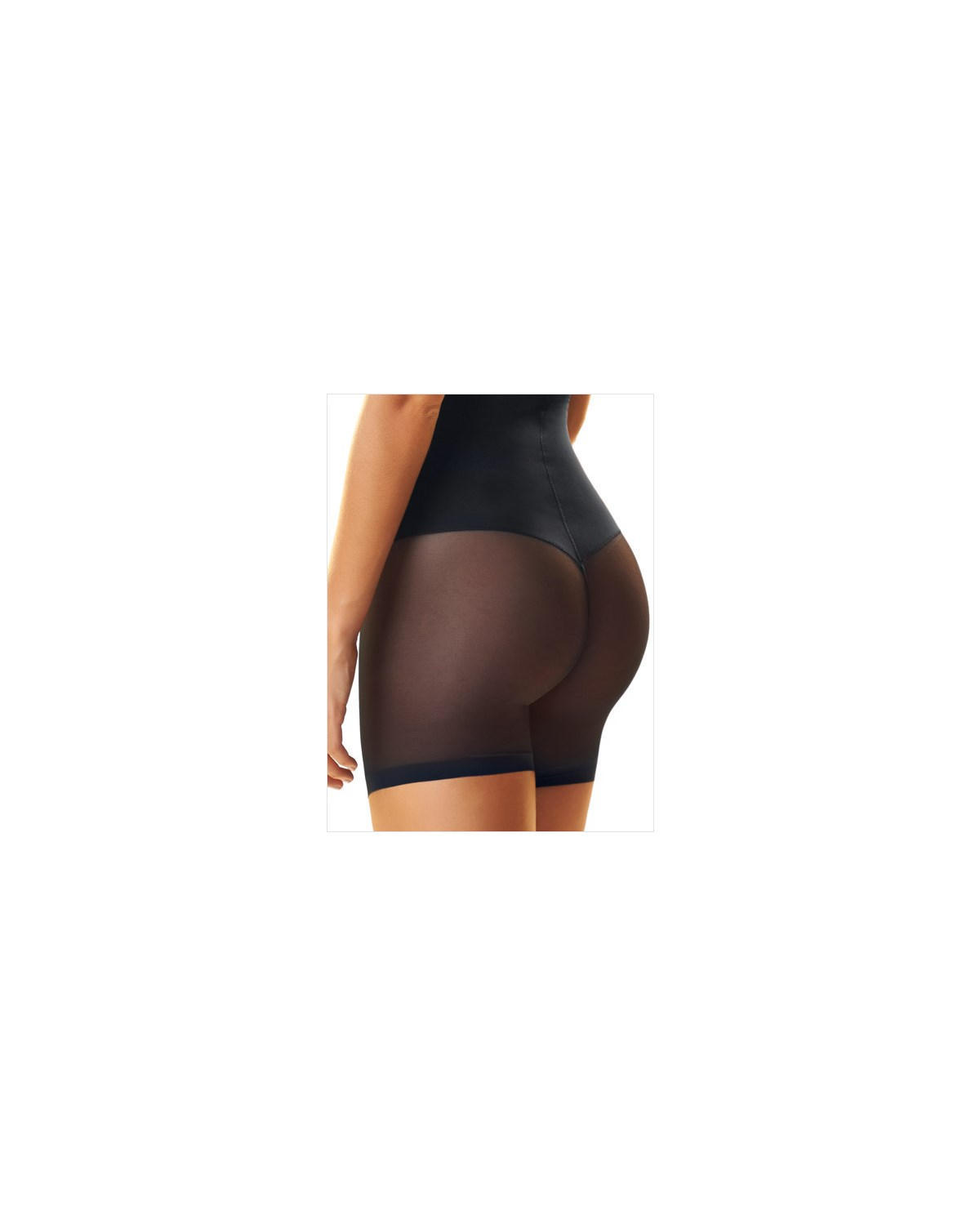 truly invisible hi-waist control short-700- Black-MainImage
