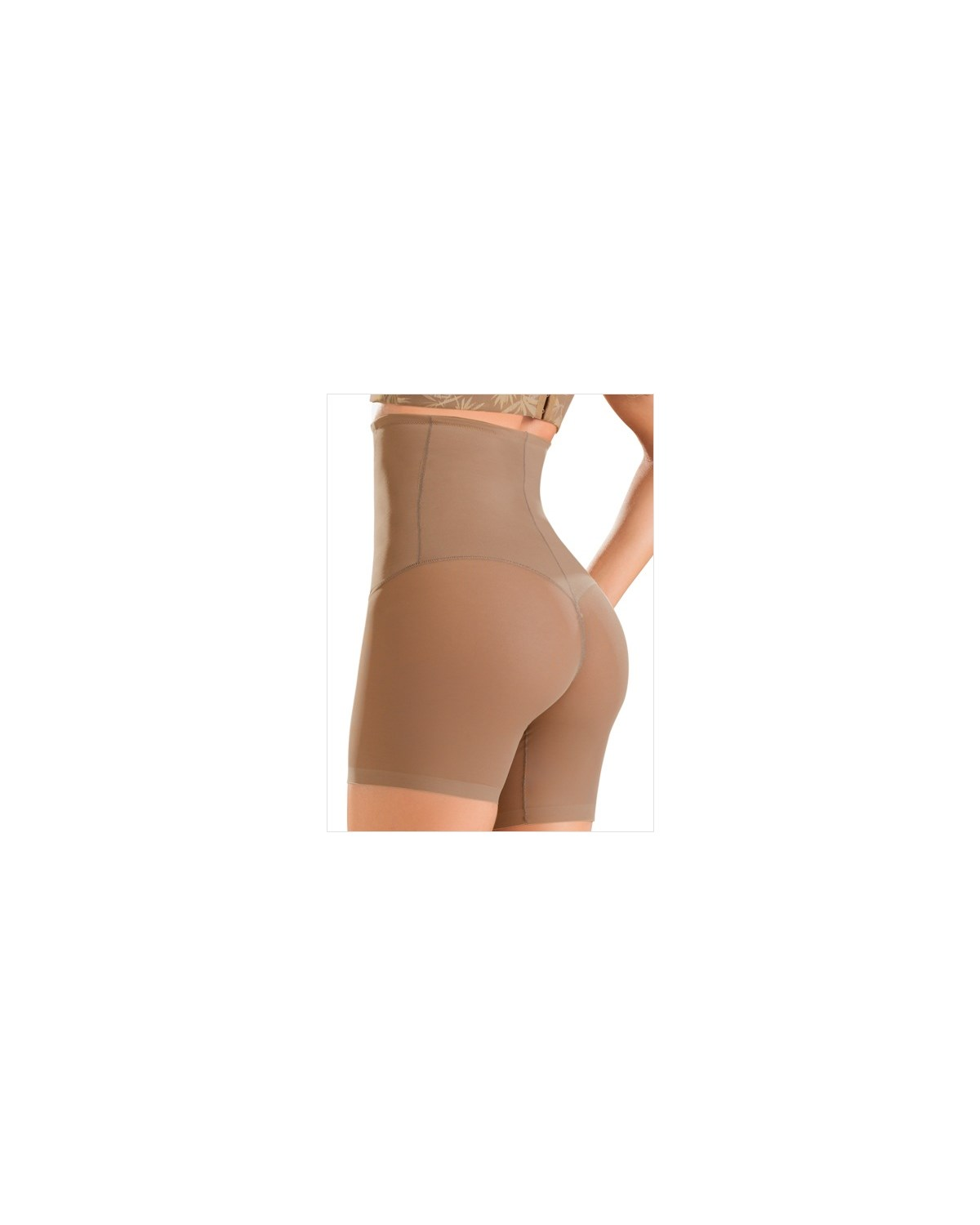 truly invisible hi-waist control short-857- Brown-MainImage