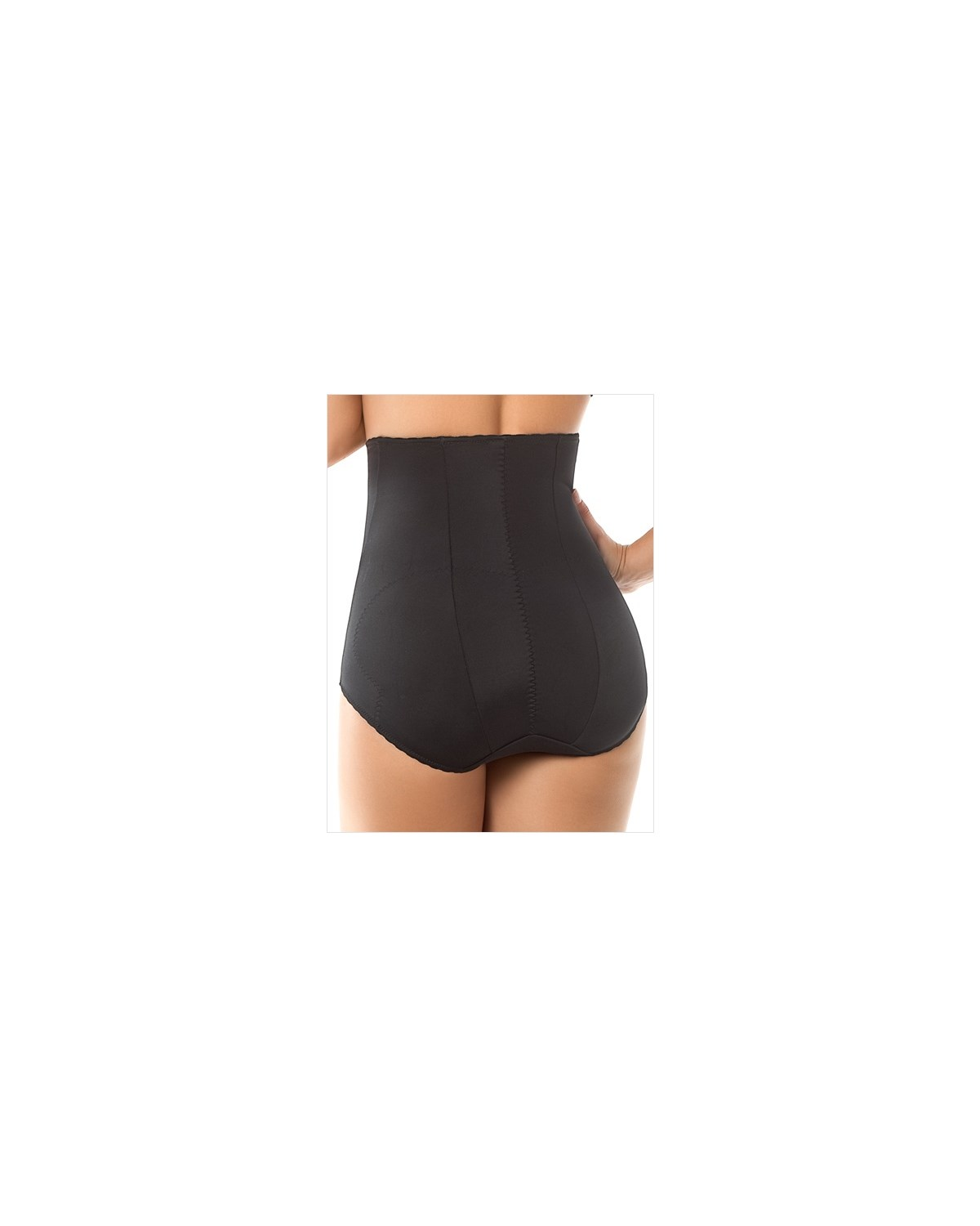 high-waisted girdle with butt lifter benefit-700- Black-MainImage