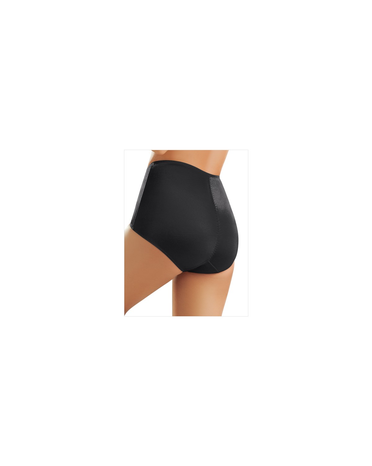 smooth control panty-700- Black-MainImage