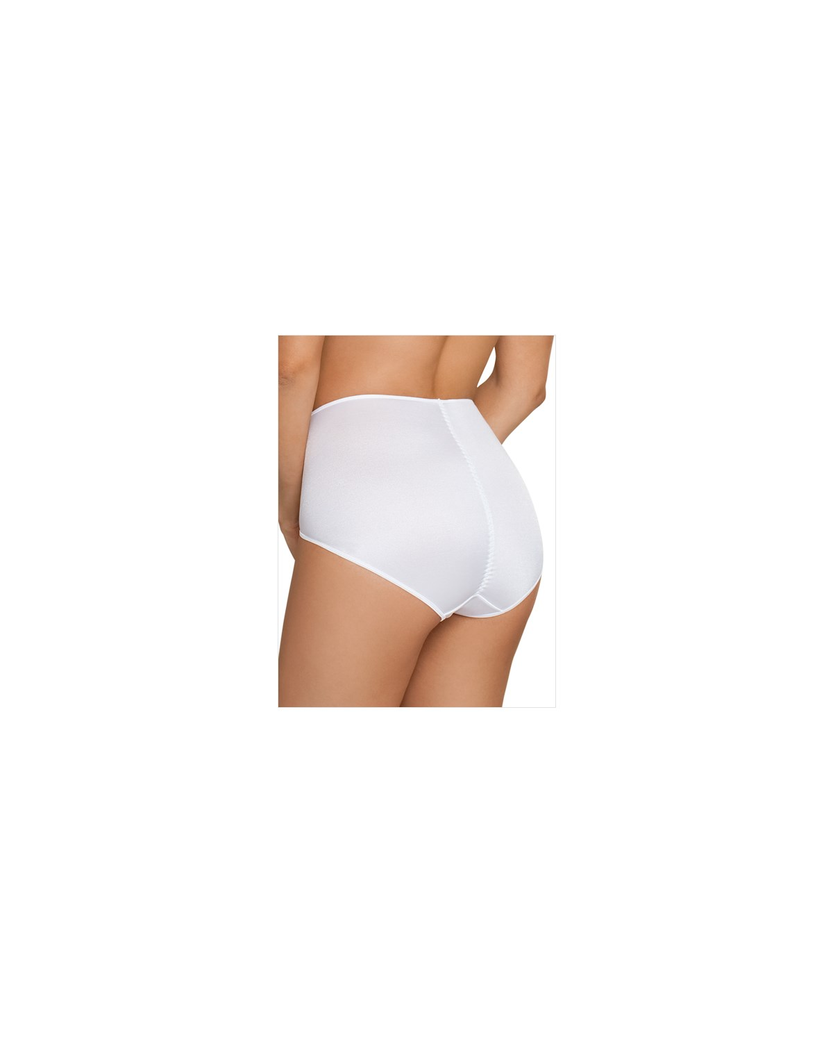 high cut firm control panty-000- White-MainImage