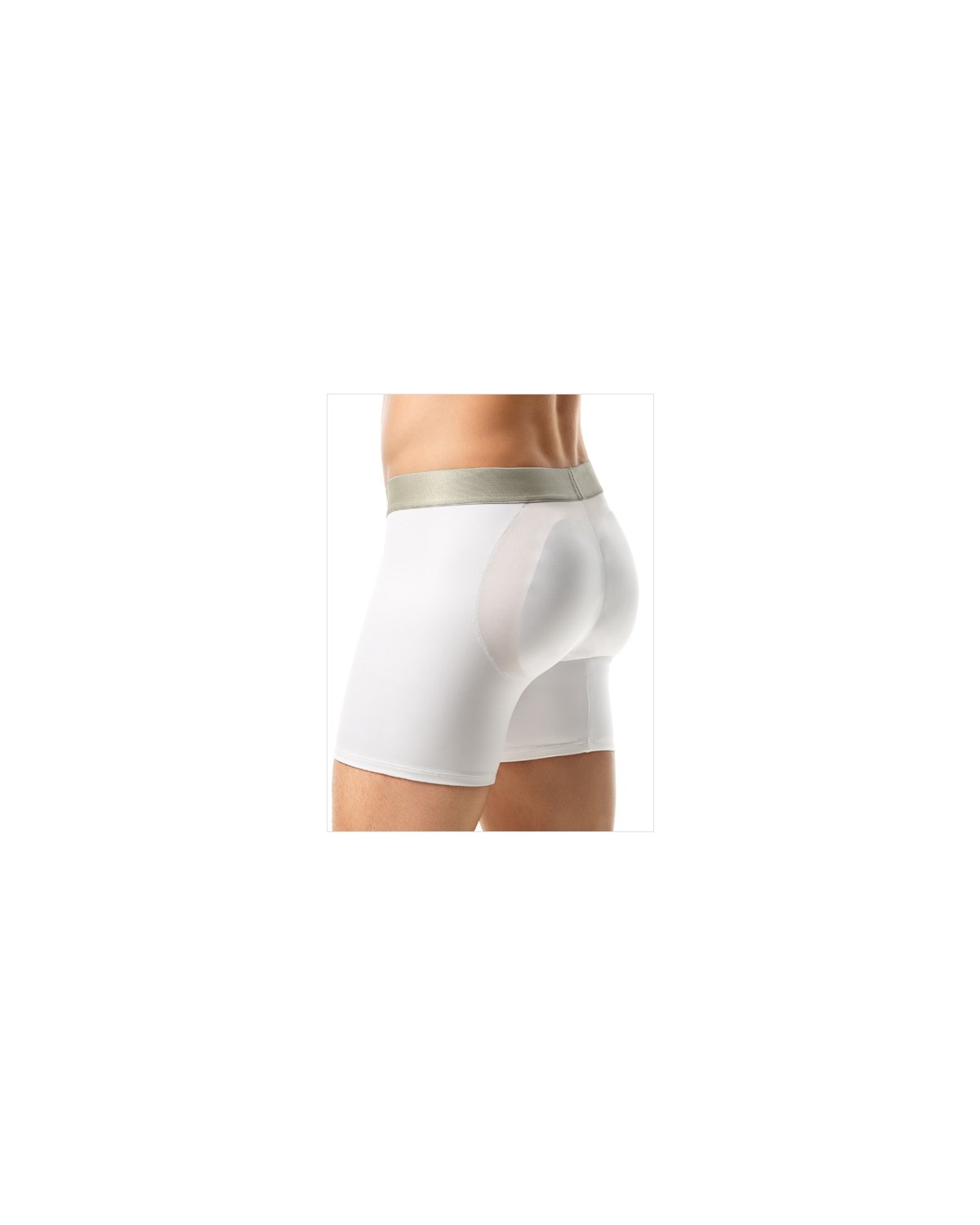 leo mens padded butt enhancer boxer brief-001- White-MainImage