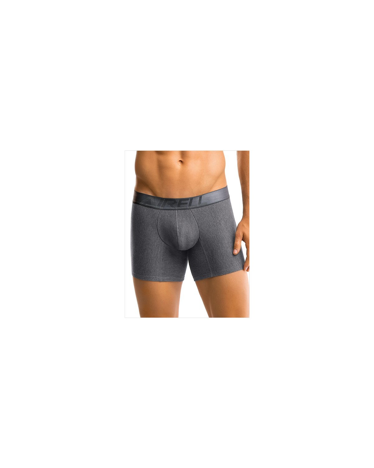 leo advanced cotton boxer brief-769- Dark Grey-MainImage