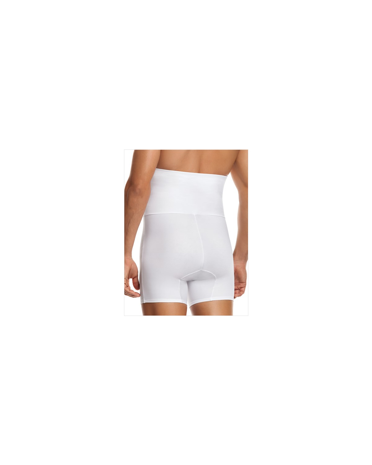 leo high waist stomach shaper with boxer brief-000- White-MainImage