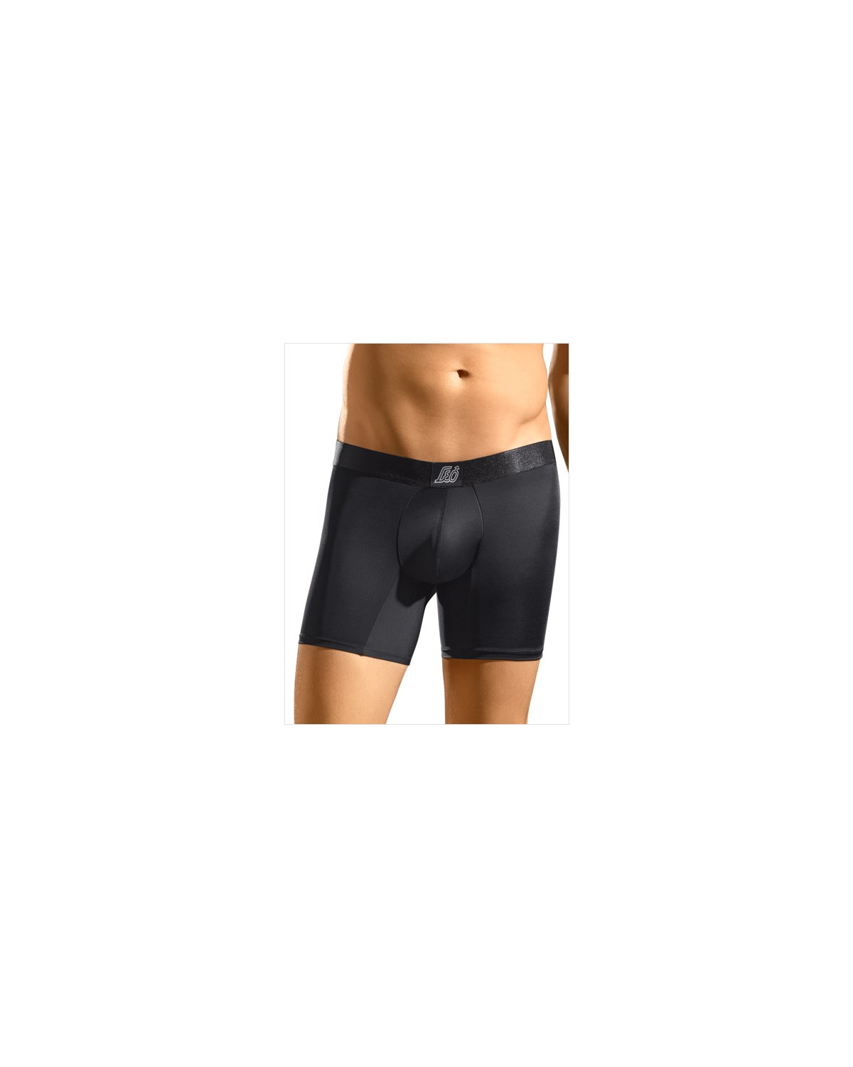 leo sport boxer brief-700- Black-MainImage