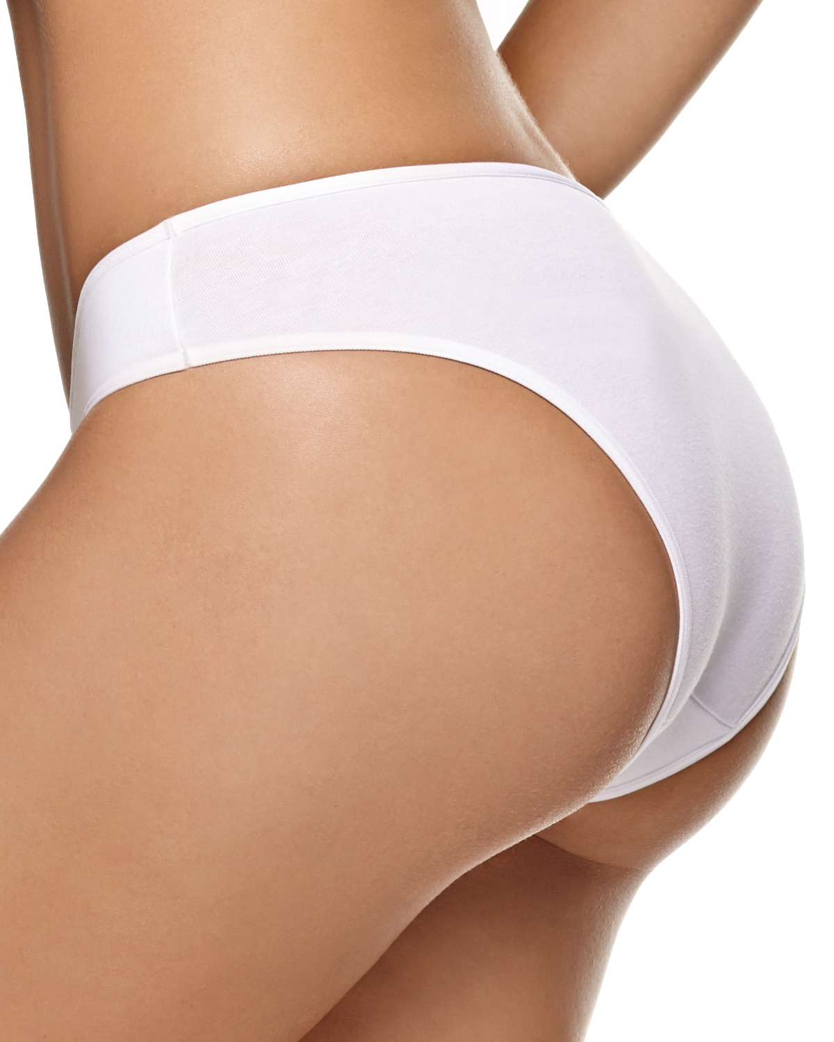 3-pack cotton bikini panty with tummy control--MainImage