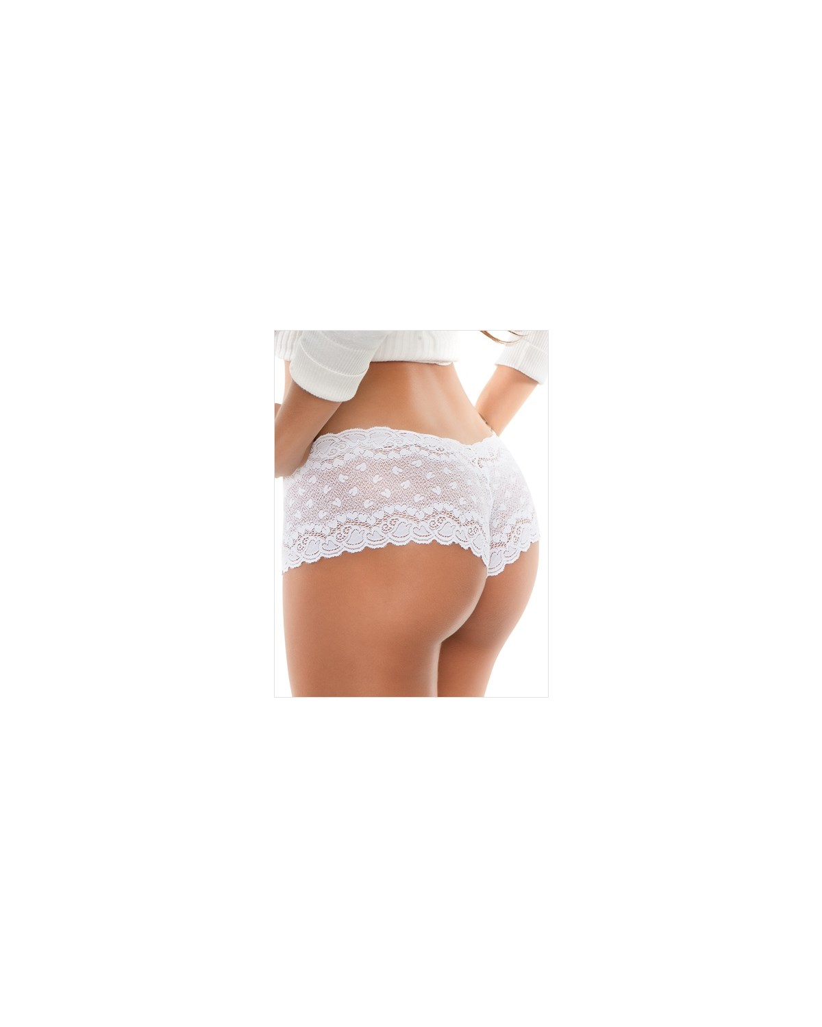 hiphugger style panty in modern lace-000- White-MainImage