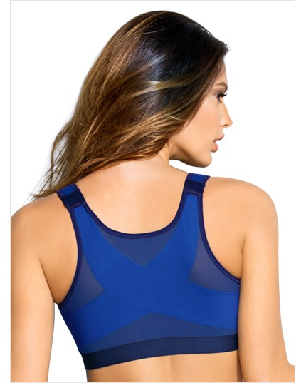 posture corrector wireless back support bra-540- Unreal Blue-MainImage