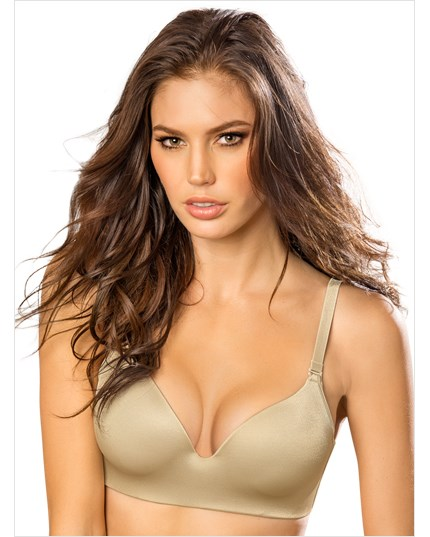 personal fit high push up bra-837- Gold-MainImage