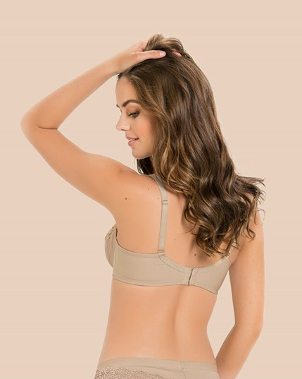 full coverage bra with lace--MainImage