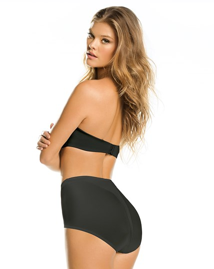 high cut panty shaper-700- Black-MainImage