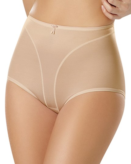 high cut panty shaper-878- Beige-MainImage