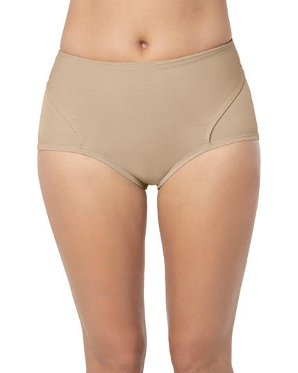 postpartum panty with adjustable belly wrap-802- Nude-MainImage