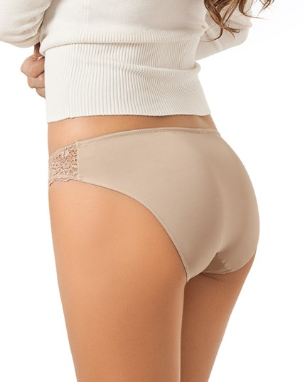 mid-rise lace brief panty with seamless back-802- Nude-MainImage