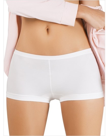 perfect fit boyshort style panty-000- White-MainImage
