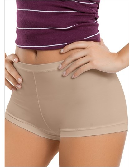 perfect fit boyshort style panty-802- Nude-MainImage
