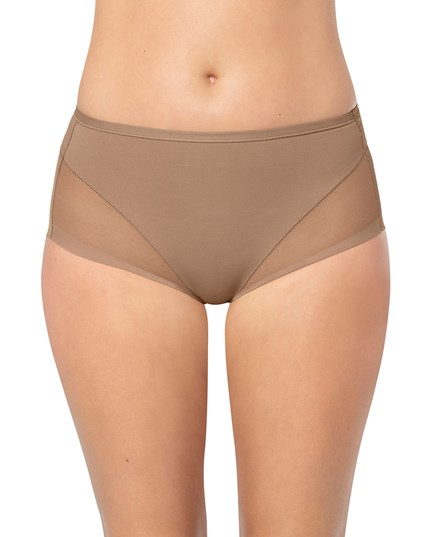 truly invisible panty shaper-857- Brown-MainImage
