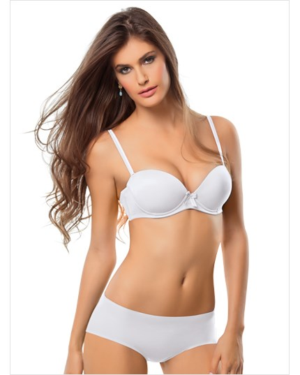 invisible classic panty with intelligent fabric-000- White-MainImage