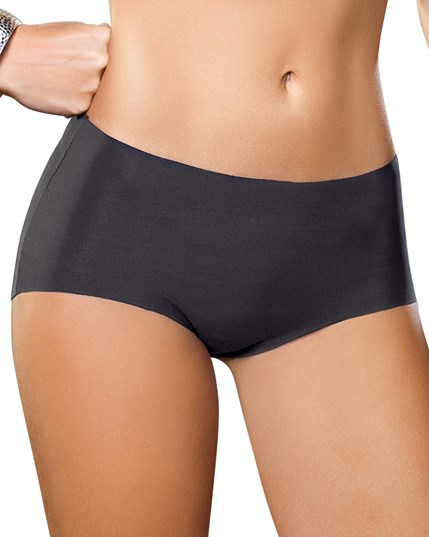 invisible classic panty with intelligent fabric-785- Black-MainImage