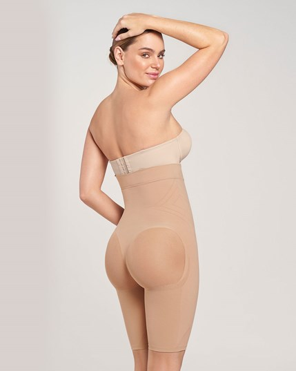 3ce7e4e25e479 seamless high waist shapewear with thigh compression-087- Beige-MainImage