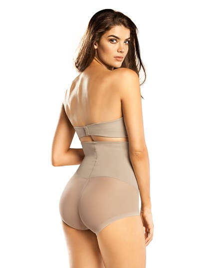 truly invisible high waist bodysuit tummy shaper-802- Nude-MainImage