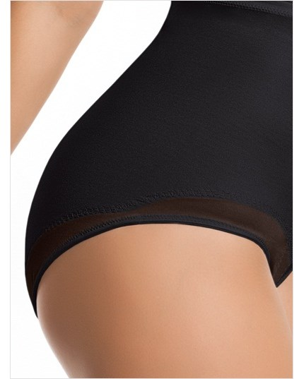 high-waisted classic panty shaper-700- Black-MainImage