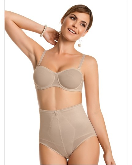 high-waisted classic panty shaper-802- Nude-MainImage