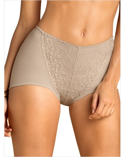 fabulous lace minimizer panty-802- Nude-MainImage