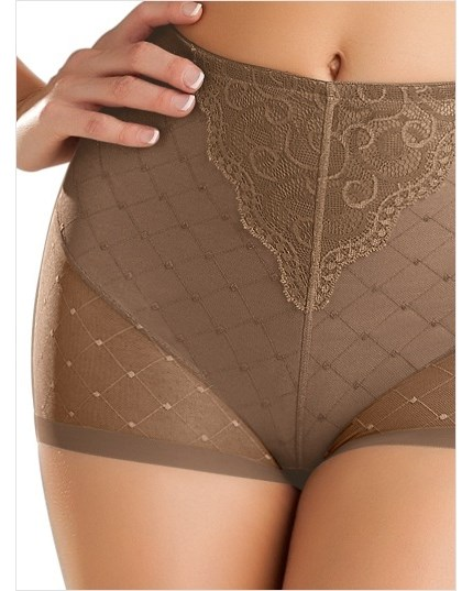 vintage interlace control short panty--MainImage