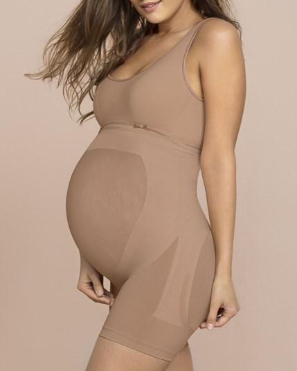 seamless maternity support panty-852- Nude-MainImage