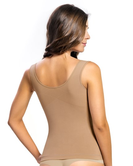 tummy smoothing tank with back support--MainImage