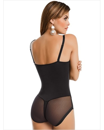 truly invisible bodysuit shaper-700- Black-MainImage