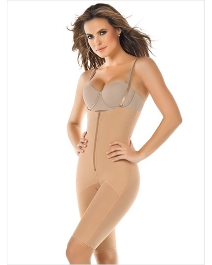 mid-thigh strapless shaper-864- Nude-MainImage