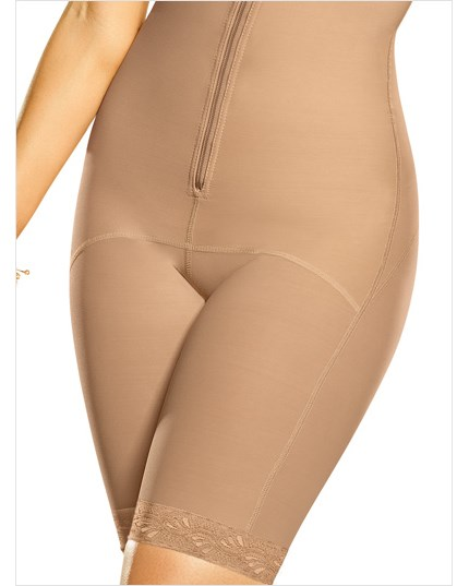 mid-thigh strapless shaper--MainImage