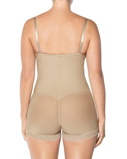 strapless power tummy trimmer compression shaper-802- Nude-MainImage