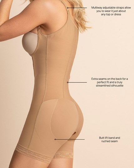 slimming shaper short with booty lifter--MainImage