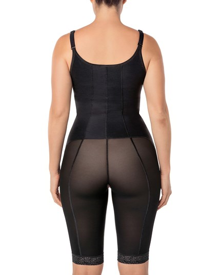 power slimmed mid-thigh body shaper--MainImage