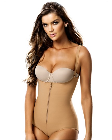 Slimming Braless Body Shaper in Classic Panty