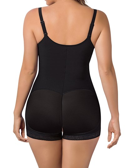 slimming braless body shaper in boyshort--MainImage