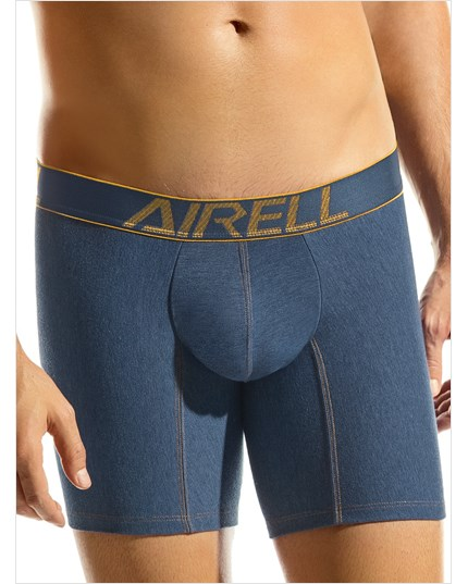 boxer largo leo en confortable algodon-546- Blue Denim-ImagenPrincipal