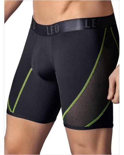 leo cool power mesh sport boxer brief--MainImage