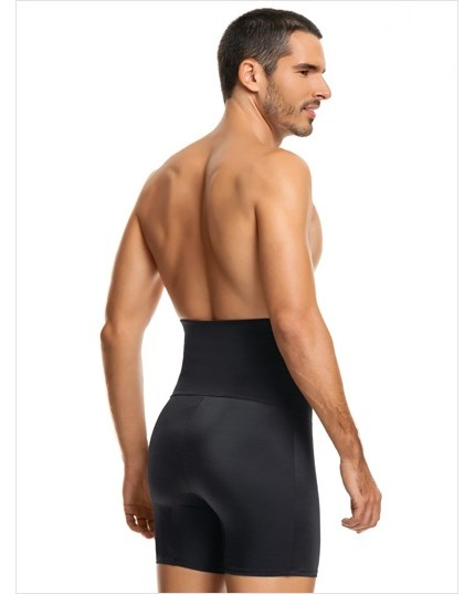 leo high waist stomach shaper with boxer brief--MainImage